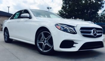 2019 Mercedes Benz E300 Sedan Lease Special