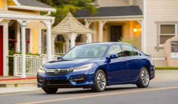 2017 Honda Accord Hybrid Lease Special