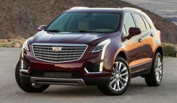 2017 Cadillac XT5 Crossover Lease Special