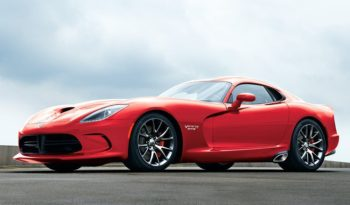 2017 Dodge Viper Lease Special